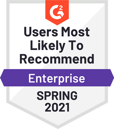 g2 users most likely to recommended